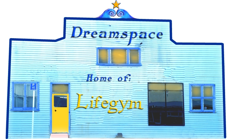 dreamspace and LIFEGYM frontage copy